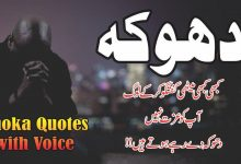 Photo of Dhoka 16 best quotes for every one