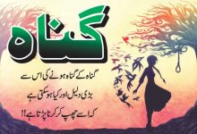 Photo of Gunaah 20 best urdu quotes with images