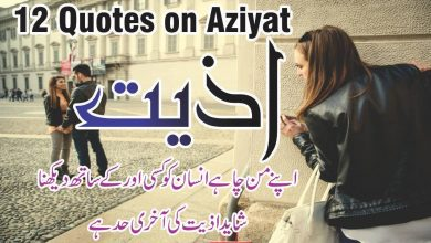 Photo of 12 Aziyat Urdu Quotes with images