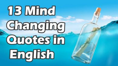 Photo of 13 Mind Changing  Quotes in  English