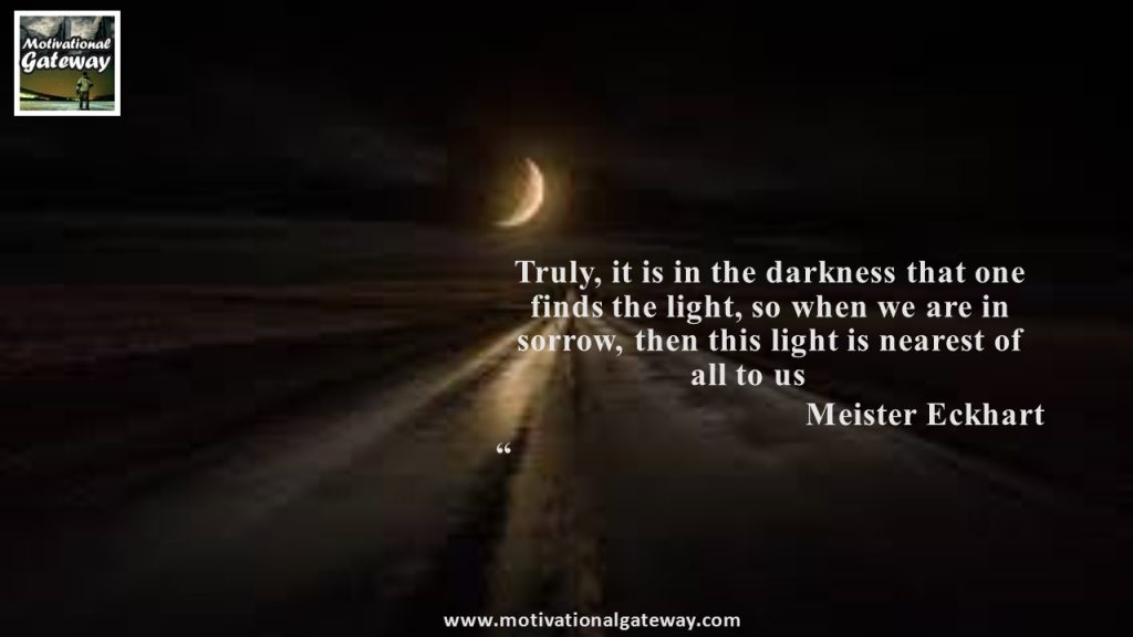 Darkness of life quotes !!