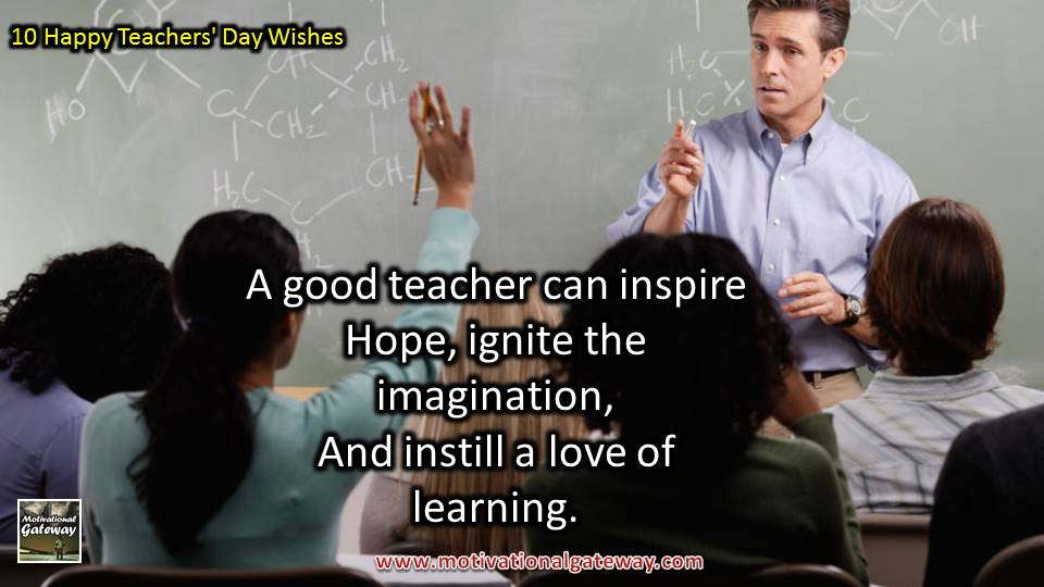 10 Best Happy Teachers' Day\
