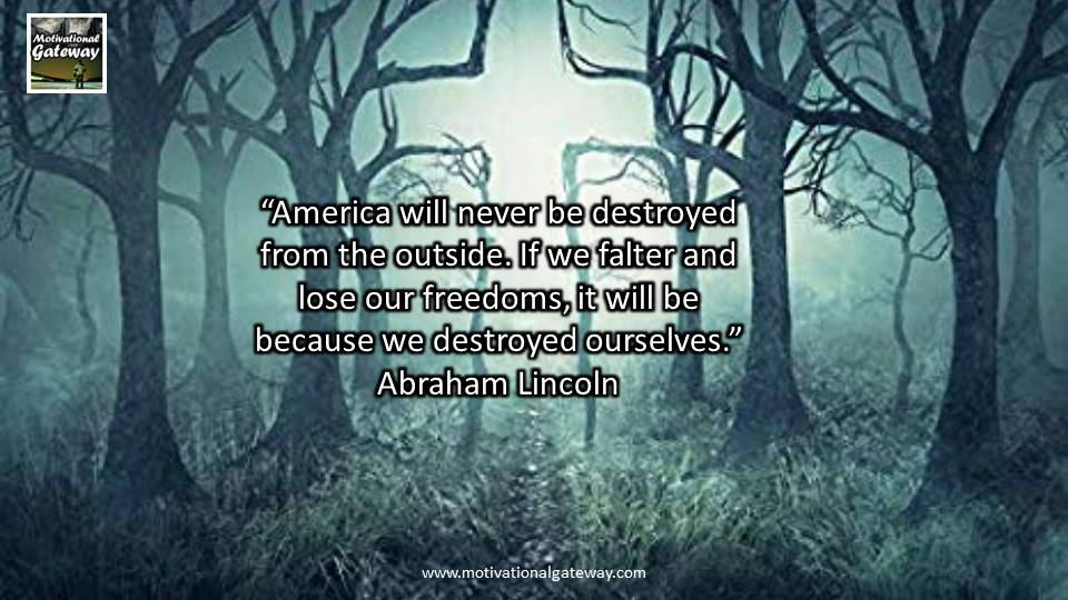 15 quotes of Abraham Lincoln