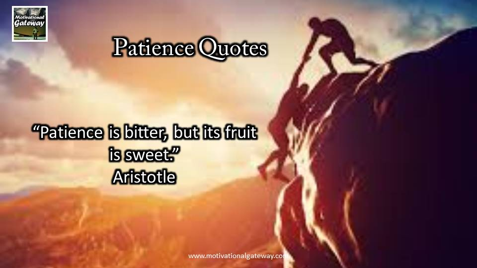 inspirational quotes on patience