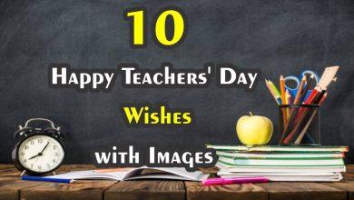 Photo of 10 Best Happy Teachers' Day\