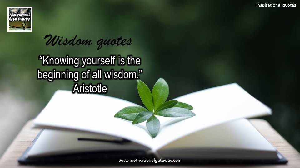 Inspirational quotes on wisdom