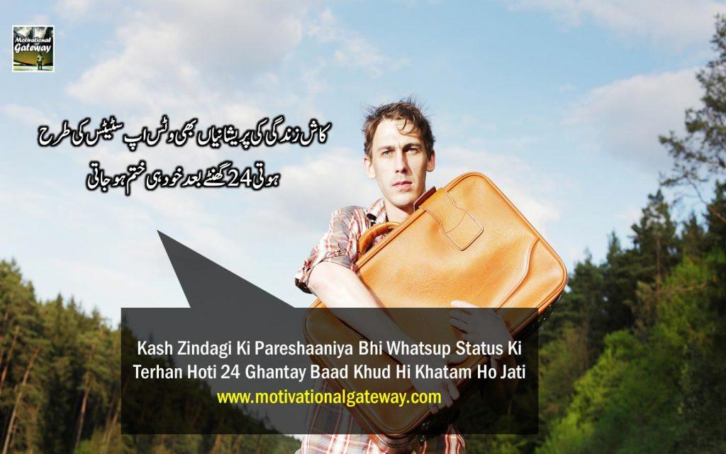 Kash Zindagi ki pareshanya bhi