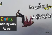 Photo of Inspirational Quotes in Urdu!!
