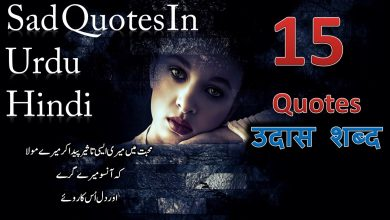 Photo of Sad quotes in urdu and hindi