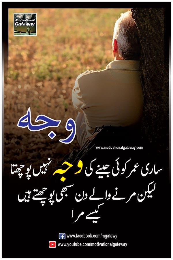 Motiyoun se qeemti aqwal in urdu hindi  saari Umar koi jeeney ki wajah nahi puchta  lekin marnay walay din sabhi puchhte hain  kaisay mra