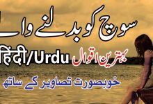 Photo of Mind changing best urdu hindi quotations
