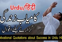 Photo of Motivational Quotations about Success in Urdu Hindi