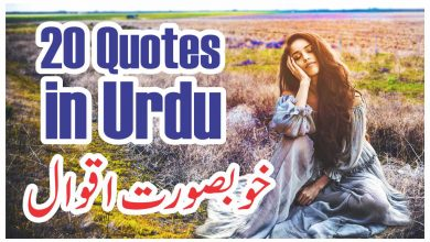 20 best urdu quotes about life