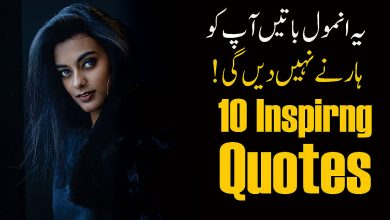 Photo of 10 Inspiring Quotes in Urdu