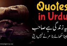 Photo of Quotes in Urdu 2020 Best Collection