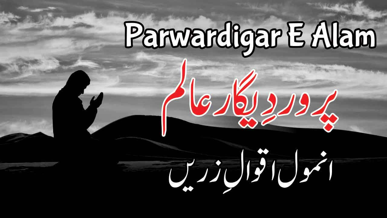 Photo of Parwardigar E Alam (Duain and Aqwal)